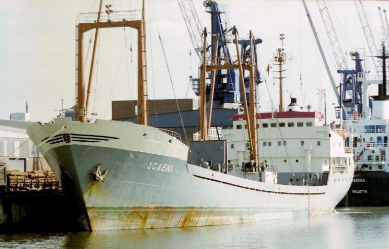 """Cargoul """"Scăeni"""" – răpus de valurile Mediteranei"""