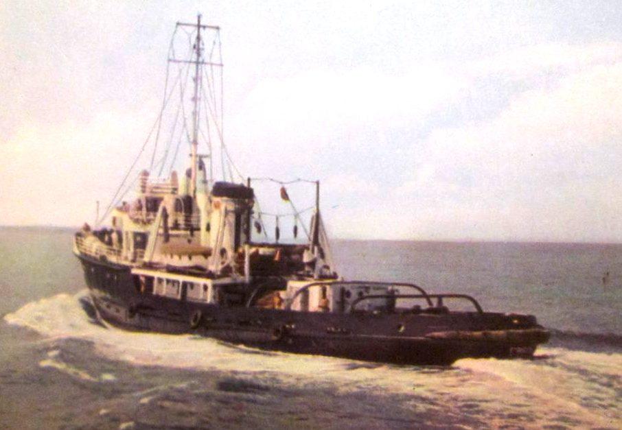 Remorcherul maritim FARUL, ex-Eforie.