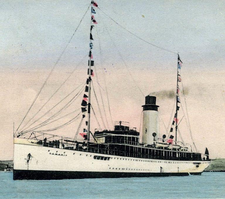 """Nava de pasageri """"România"""" – una dintre primele nave din lume purtătoare de hidroavioane"""
