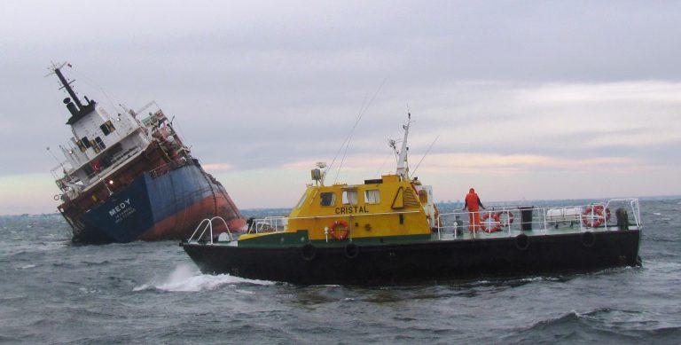 """Cargoul """"Medy"""" nu a fost scufundat intenţionat!"""