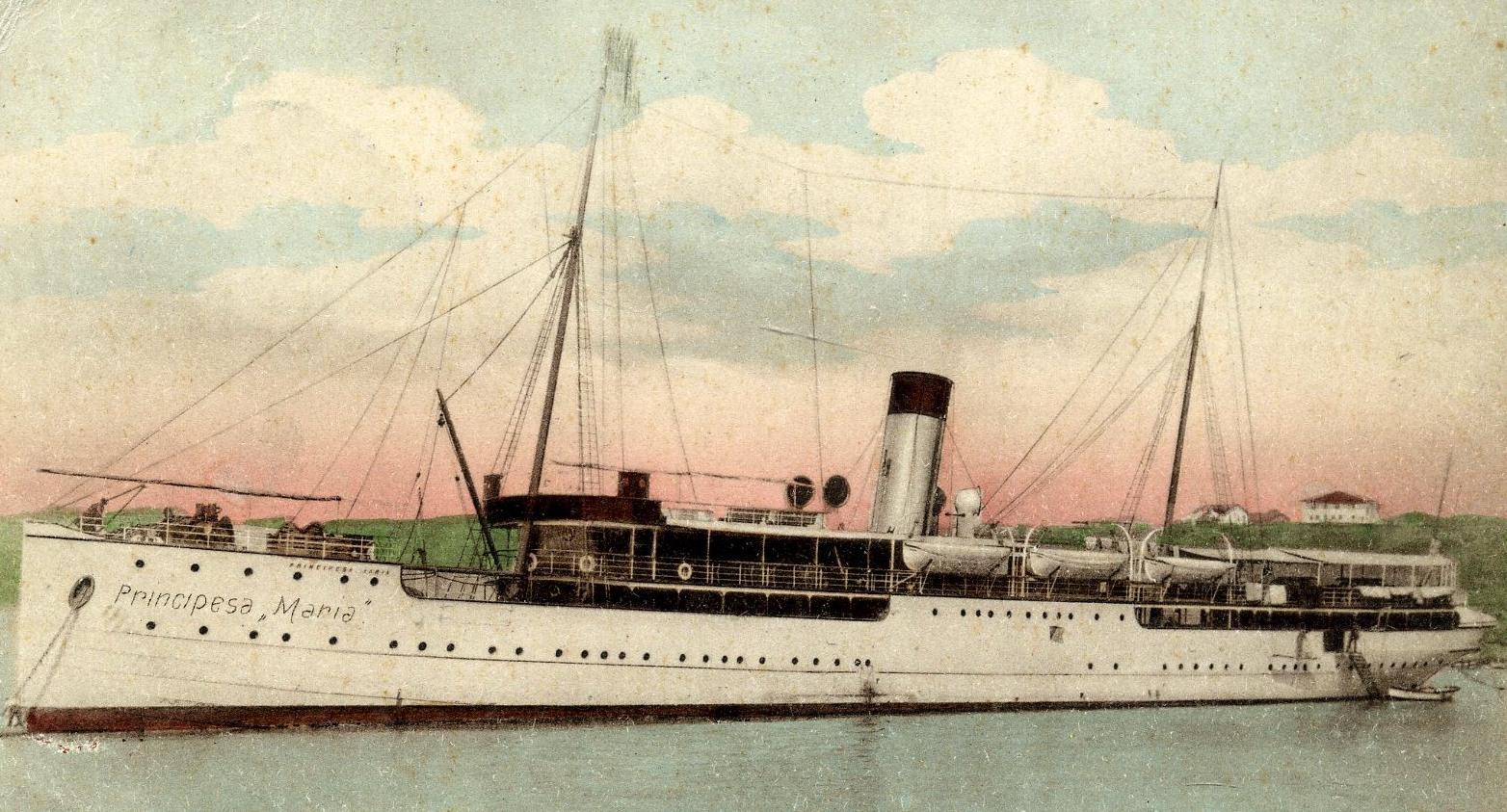 "Nava de pasageri ""Principesa Maria""."
