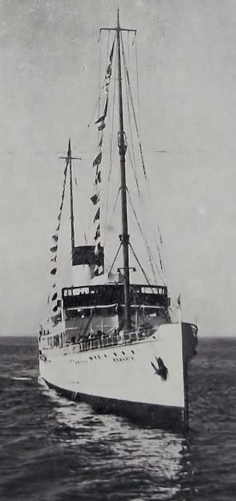 Nava maritima de pasageri ROMANIA (1z)