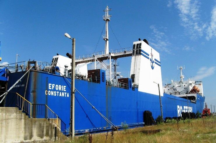 Nava ferry-boat EFORIE.