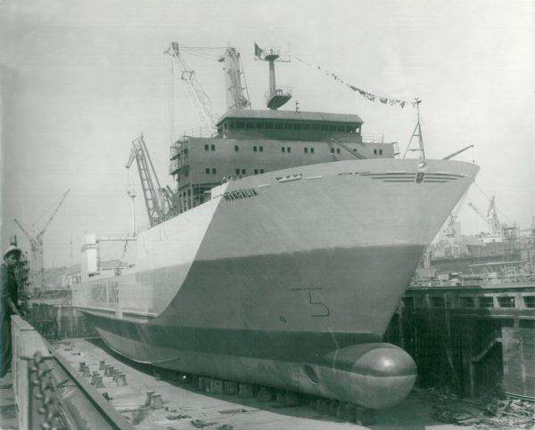 """""""Mangalia"""" – primul ferry-boat românesc, a ajuns o epavă"""