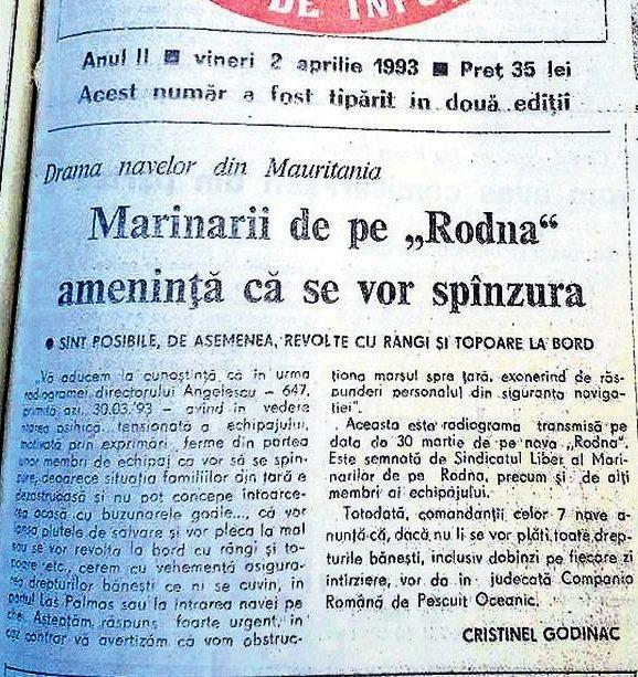 După anul 1990 a început declinul flotei românești fie că aceasta era comercială, de pescuit oceanic sau fluvială.