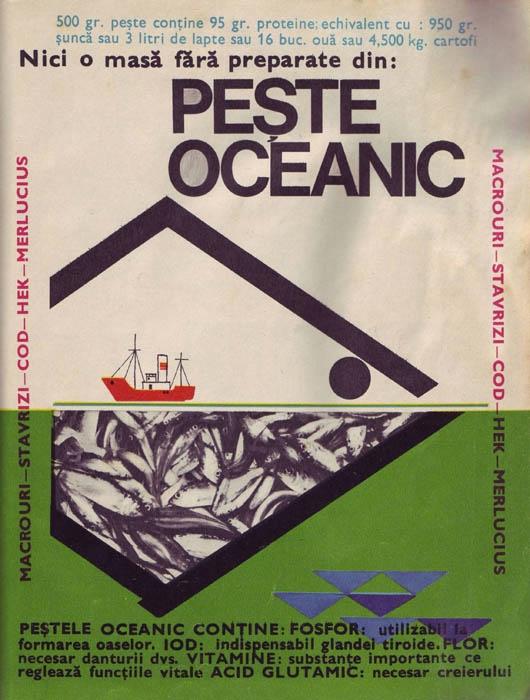 Nicio masă fără pește oceanic(sursa-www.comunismulinromania.ro)