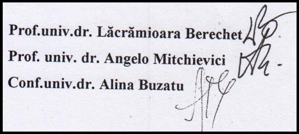 Fiul numitei Alina Buzatu - prof. univ. dr., membru al Comisiei de Analiză a tezei de doctorat a numitei Anamaria Ciobotaru, este elev în clasa a VII-a A din Colegiul Național Pedagogic din Constanța!