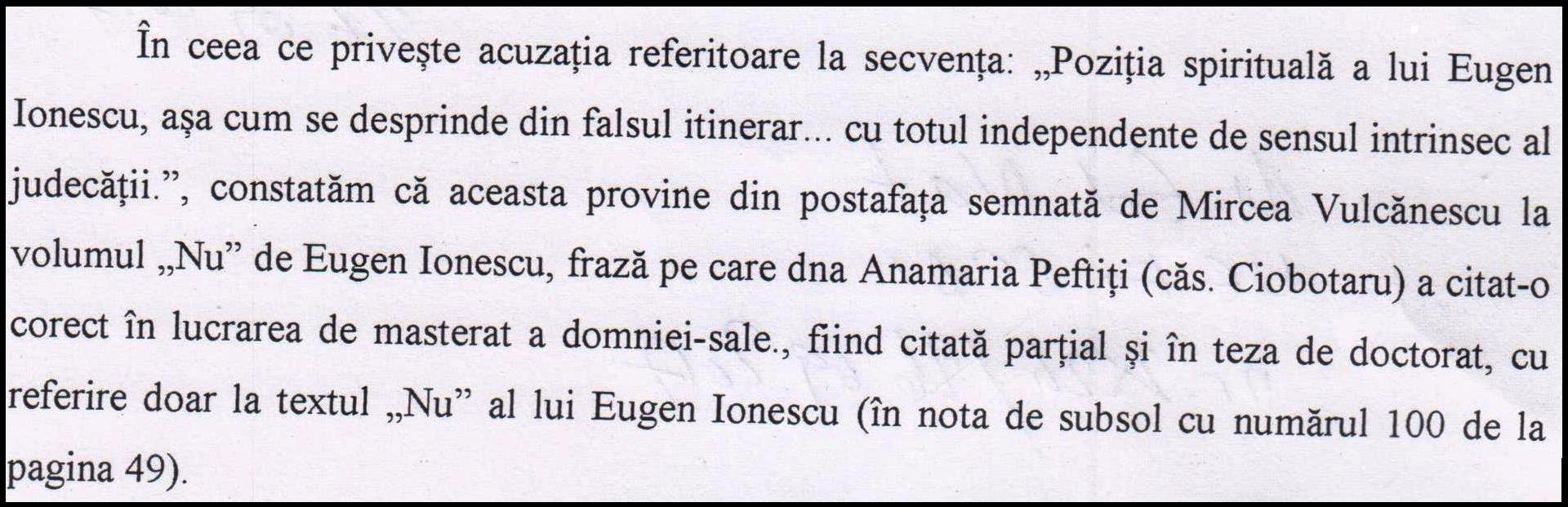 6. Pozitia spirituala a lui Eugen Ionescu