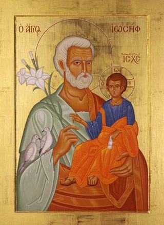 Bătrânul Iosif îşi vădeşte bunătatea faţă de sarcina soției sale Maria și nu numai că nu face un denunţ legal, ceea ce ar fi dus la pedepsirea cu moartea a Mariei, potrivit Legii lui Moise care pedepsea femeile însărcinate nefiind căsătorite (Deuteronom 22,23-24), ci se gândeşte să nu facă cunoscut faptul că ea era însărcinată, fugind pe ascuns. El vrea, astfel, să evite s-o facă de ruşine căci, în astfel de cazuri, femeia, chiar dacă nu era reclamată, rămânea cu reputaţia pătată în ochii oamenilor (Matei 1,18-19).