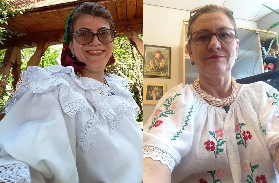 Adriana Câmpeanu (stânga), această Maria Grapini a P.N.L. Constanța.