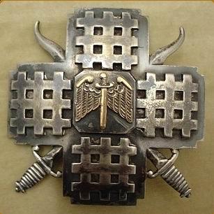 Insignă a Gărzii de Fier.