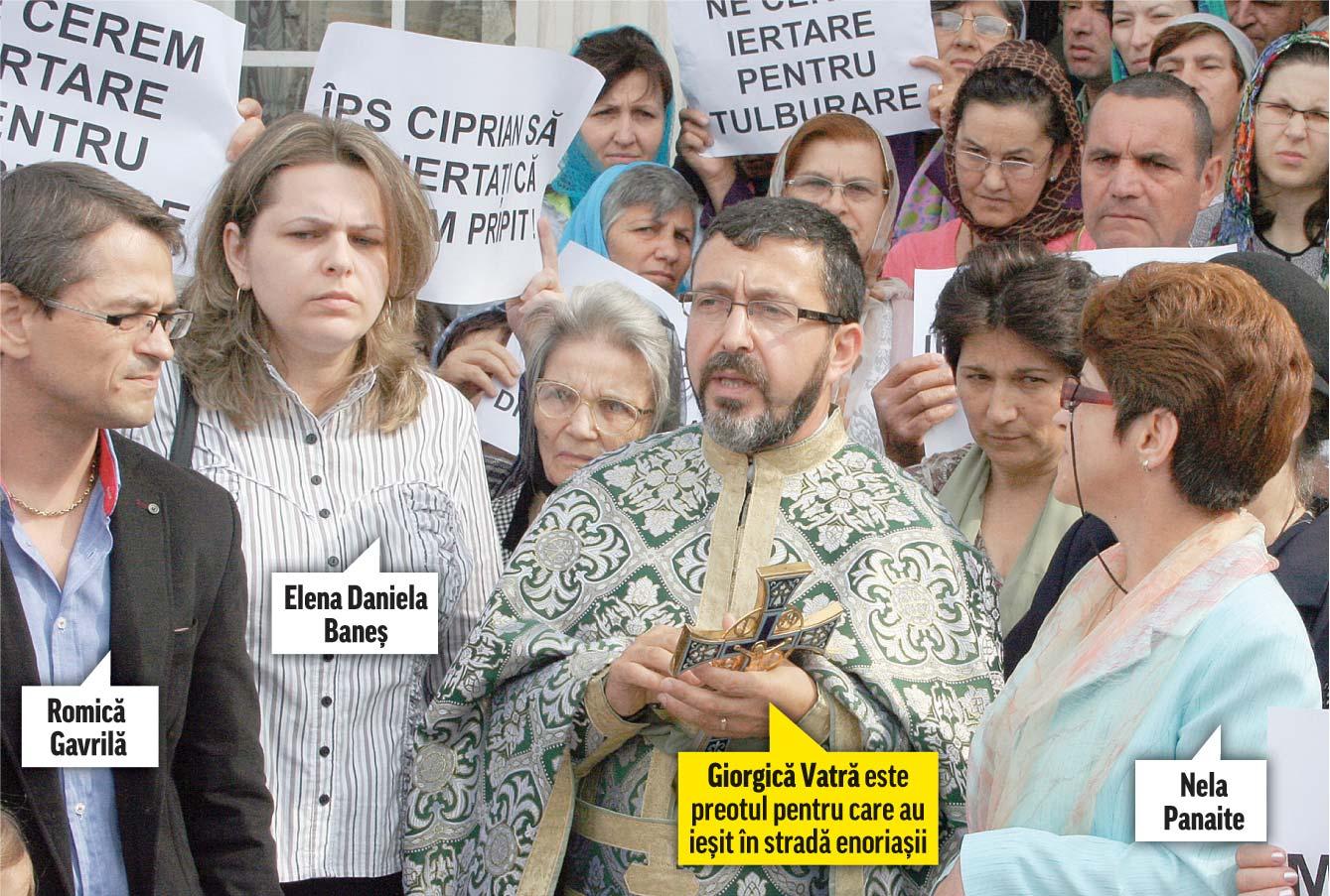 Nela Panaite, Elena Daniela Baneş şi Romică Gavrilă au fost excomunicați din B.O.R.