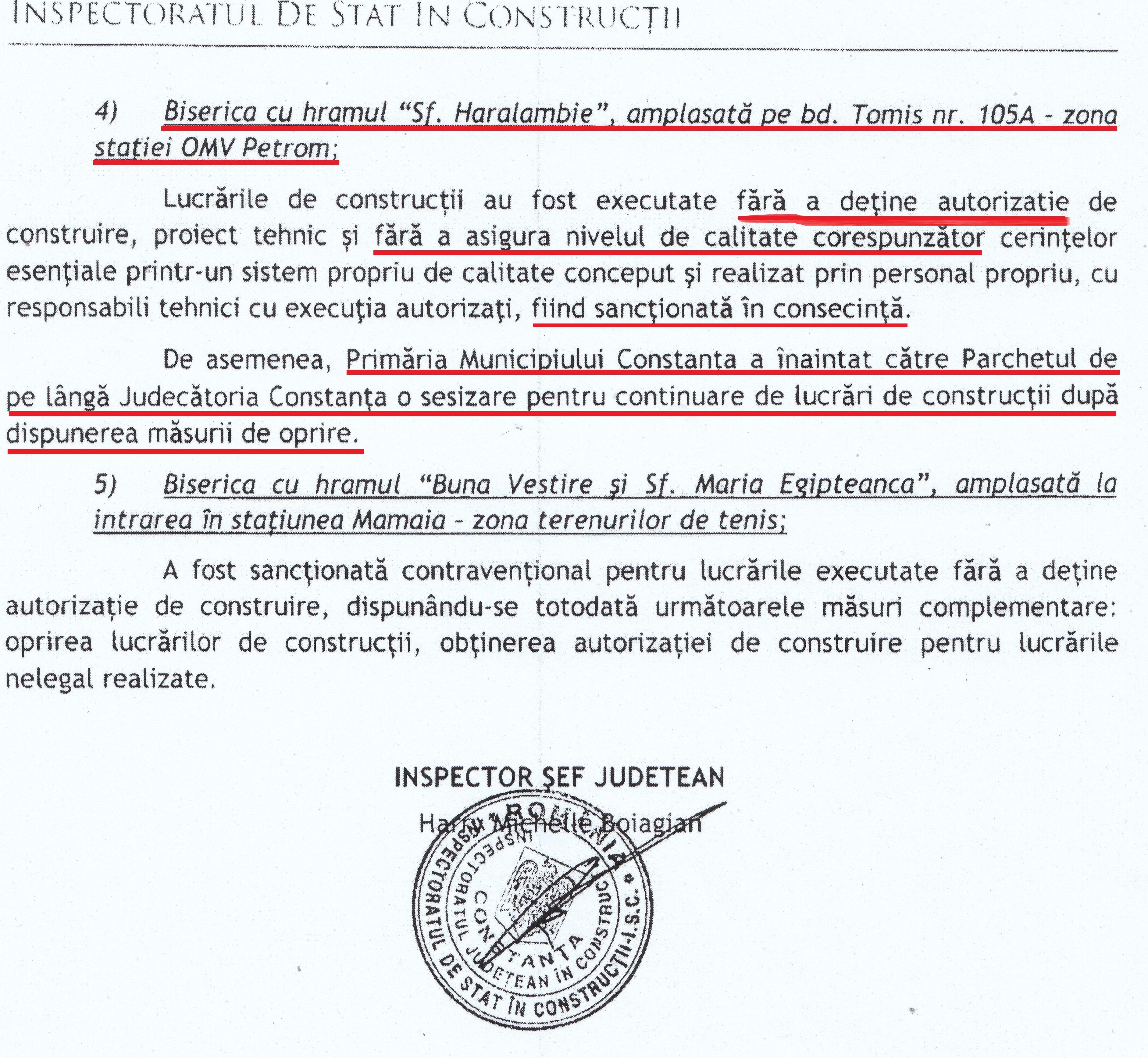 Adresa nr. 17807 din 19.04.2017 a Insp. Județean în Construcții către REZISTENTA.ro